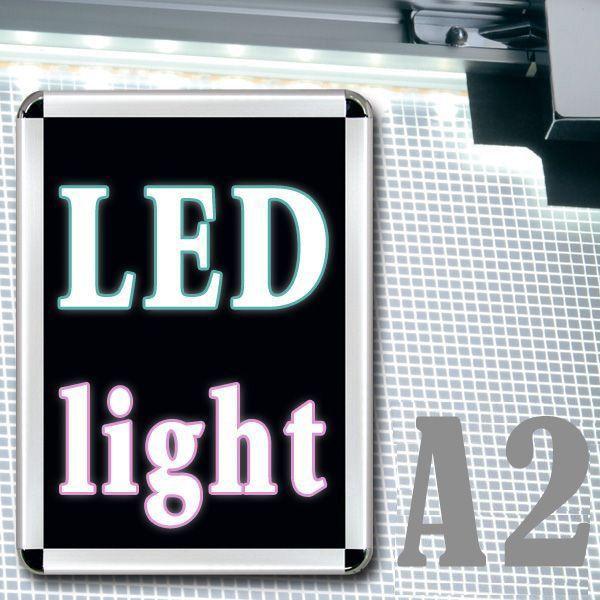 PGライトLEDスリム R型 A2 屋内用 要法人名  (選べるフレームカラー)