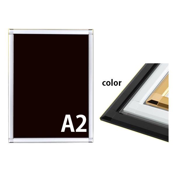 角型 A2 PGライトLEDスリム 屋内用 要法人名  (選べるフレームカラー)