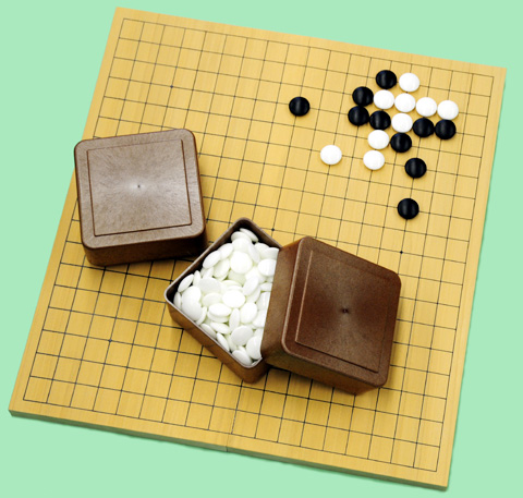 アガチス折りたたみ碁盤セット