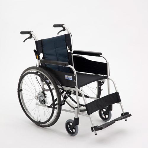 【ミキ】アルミ製スタンダード車いす USG1車椅子/自走/介助/軽量/介護用品/お年寄り/高齢者