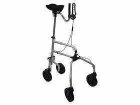 【ウェルファン】快速ウォーカー歩行器/シルバーカー/杖/麻痺/片手/抵抗器/お年寄り/高齢者