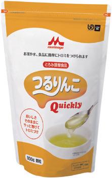 【クリニコ】つるりんこQuickly 2kg 1ケース(4袋)とろみ/粉末/溶けやすい/病院/料理/飲み物/介護/高齢者/お年寄り