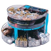硬幣計數機硬幣計數器電氣型容易可擕式硬幣計數機硬幣分揀機 SCS 200