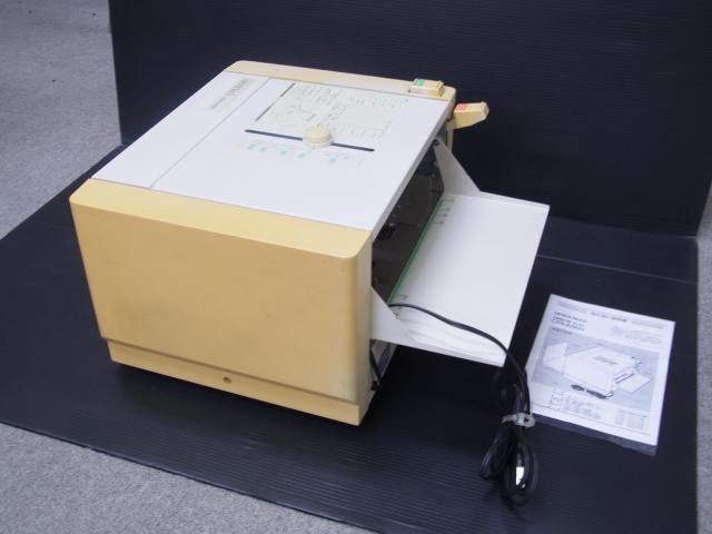 (中古品・整備済み)シルバー精工 日焼け有 紙折り機 MA50消耗品交換済み【中古】