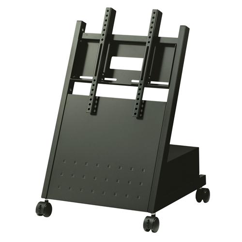 デジタルサイネージ ディスプレイスタンド XS-3247L ローポジション:中型用~49V型対応 ハヤミ工産|デジタル サイネージ ディスプレイ スタンド 店舗用 店舗用品|