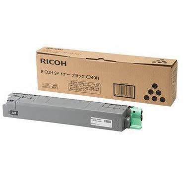 RICOH リコー IPSiO SP トナーブラック C740H純正品 600584∴|インク カートリッジ トナーカートリッジ カラーレーザープリンター カラーレーザープリンタ カラー レーザー プリンター プリンタ 事務用品 オフィス用品 交換 消耗品 純正トナー カラープリンタ|