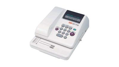 チェックライター マックス 電子チェックライター 12桁印字 EC-710
