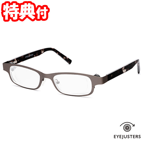 《500円クーポン配布》 アイジャスターズ 度数可変シニアグラス これ1本 オックスブリッジ リーディンググラス メガネ 眼鏡 めがね 老眼鏡 左右独立調整可能 EYEJUSTERS 送料無料