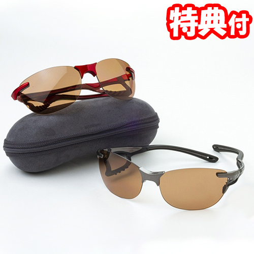 《500円クーポン配布》 鼻でかけない薄い色の偏光サングラス エアサイトドライブ 全2色 日本製偏光レンズ ジゴスペック ノーズパッドのないサングラス まぶしさカット UVカット 紫外線カット ブルーライトカット 運転時 送料無料