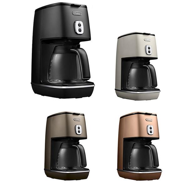 《500円クーポン配布》 ICMI011J コーヒーメーカー デロンギ ディスティンタコレクション ドリップコーヒーメーカー チタンコートフィルター採用 アロマ機能 保温機能 コーヒーマシン 送料無料