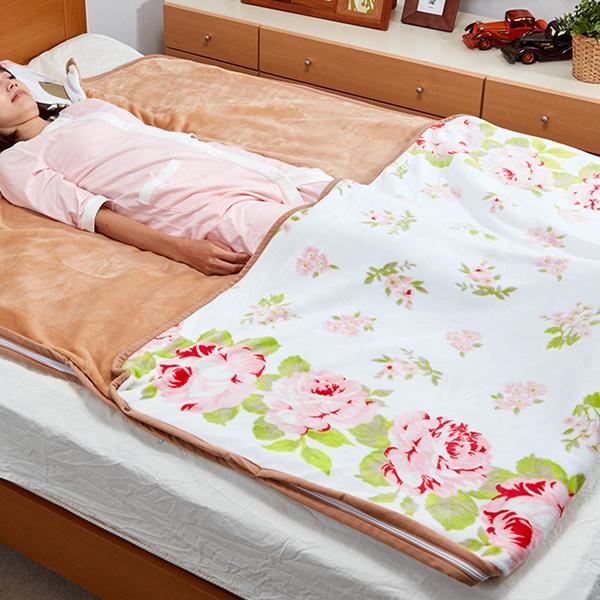 《500円クーポン配布》 ヒーター付足まき毛布 OLK-A251 大きい 洗える毛布 包まれる毛布 衿付き 省エネ 暖房器具 寝具 だんぼうきぐ ヒーター 足元暖房 電気ヒーター 電気毛布 送料無料