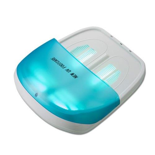 3特典【送料無料+保証+ポイント】 家庭用紫外線治療器 NEW UVフットケア CUV-5 ニューUVフットケア CUV5 紫外線治療機 UV保護メガネ2個付属 UVフットケアー