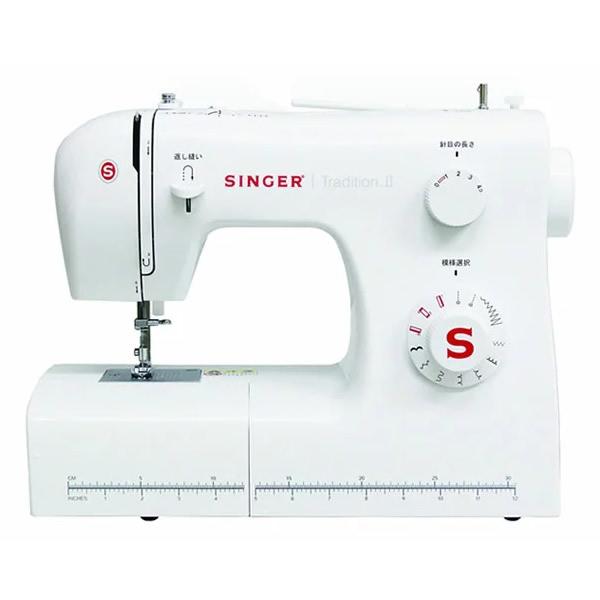 ★500円クーポン配布中★ シンガー 電動ミシン Tradition SN-521 SINGER 小型ミシン 厚物縫い フットコントローラー付き SN521