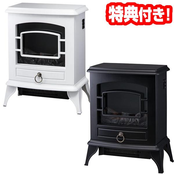 《500円クーポン配布》 スリーアップ CH-T1840 暖炉型ヒーター Nostalgie ノスタルジア 暖炉ヒーター 暖炉ストーブ 電気暖炉 電気暖房機 CH-T1840WH CH-T1840BK 送料無料