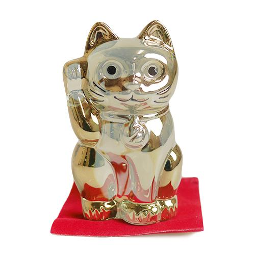 バカラ 招き猫 ゴールド 2-612-997