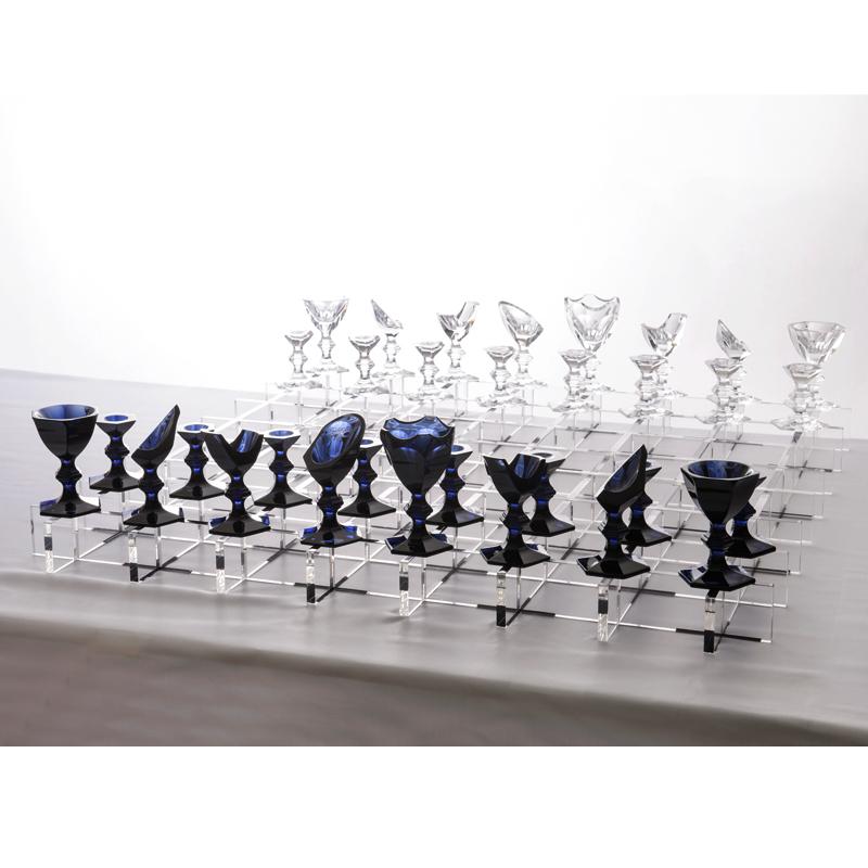 【世界限定50PCS】バカラ (Baccarat) デザインオフィスnendo(ネンド) デザイン 王のゲーム アルクール チェスゲーム セット