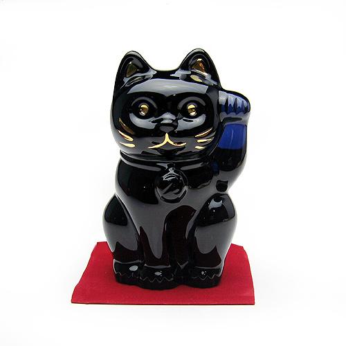 バカラ (Baccarat) 招き猫 ミッドナイト 2-607-787【あす楽対応】