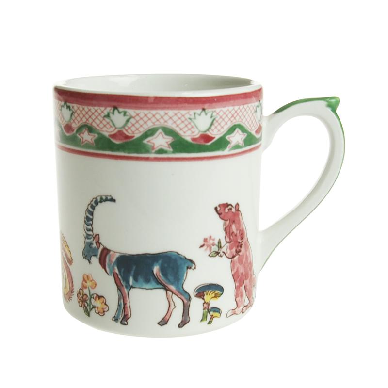 ジアン (Gien) ジャルダンイマージュ マグカップ