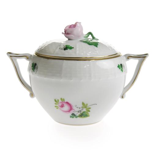 ヘレンド ウィーンのバラ ヘレンドウィーンの薔薇 新入荷 流行 HEREND VRHS 472 新品未使用 シュガー シンプル あす楽対応