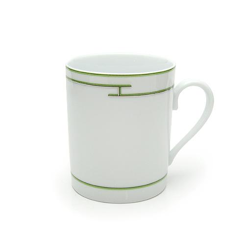 エルメス (HERMES) リズム マグカップ グリーン 4334P