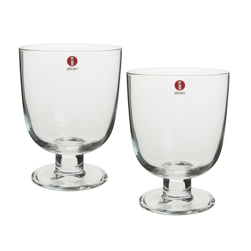 イッタラ (iittala) レンピ LEMPI グラス 0.35L クリア 2客セット