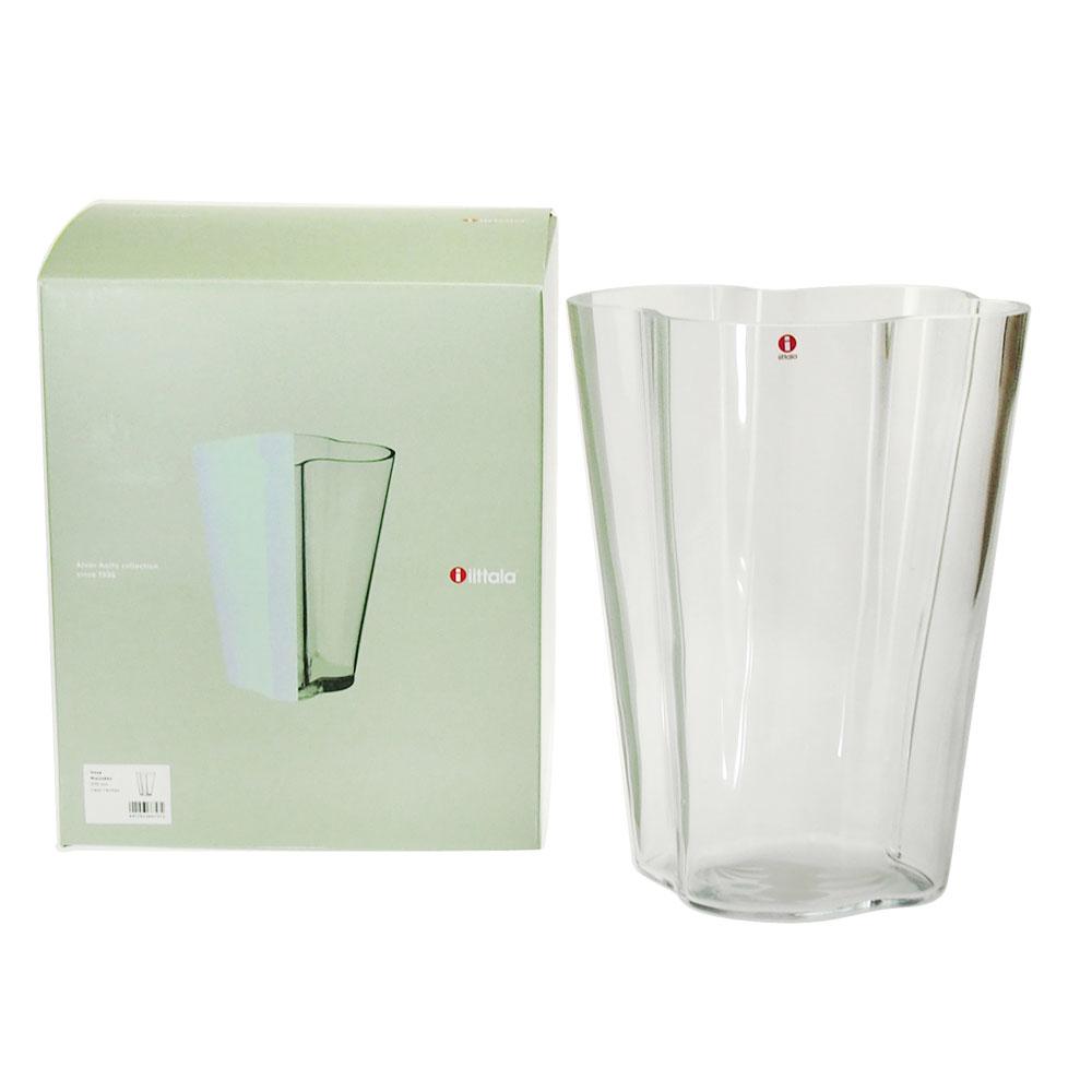 新品未使用正規品 アルバ アールト 花瓶 5%OFF イッタラ iittala クリア ベース アアルトコレクション アルヴァ 270mm