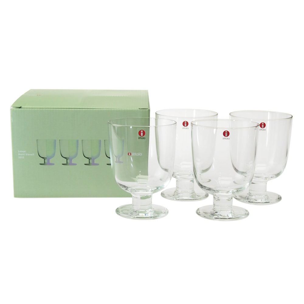 イッタラ レンピ グラス 4個セット イッタラ (iittala) レンピ LEMPI グラス 0.35L クリア 4客セット