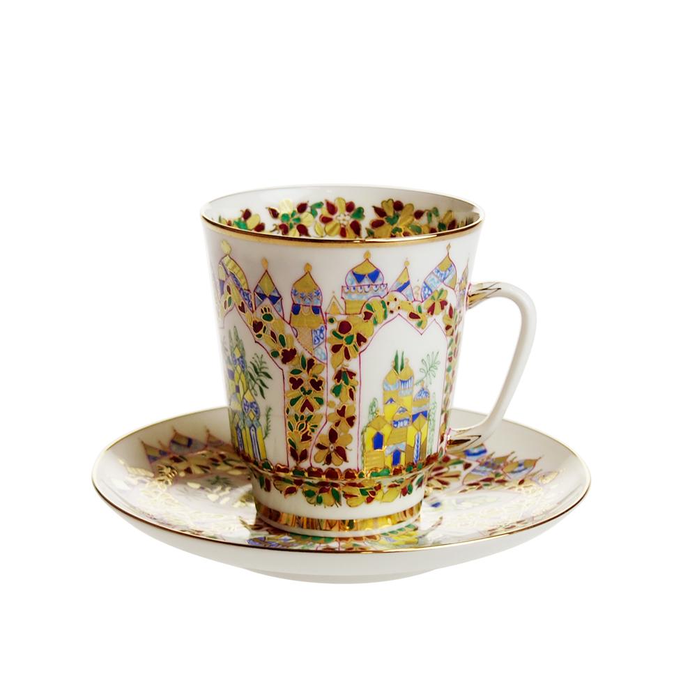 インペリアルポーセリン シェヘラザードパレス コーヒーカップ&ソーサー メイ 165ml