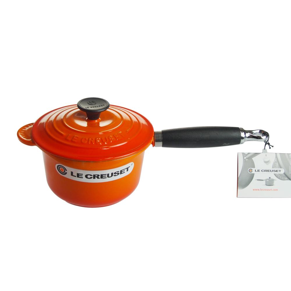 ル・クルーゼ (Le Creuset) ソースパン 16cm オレンジ