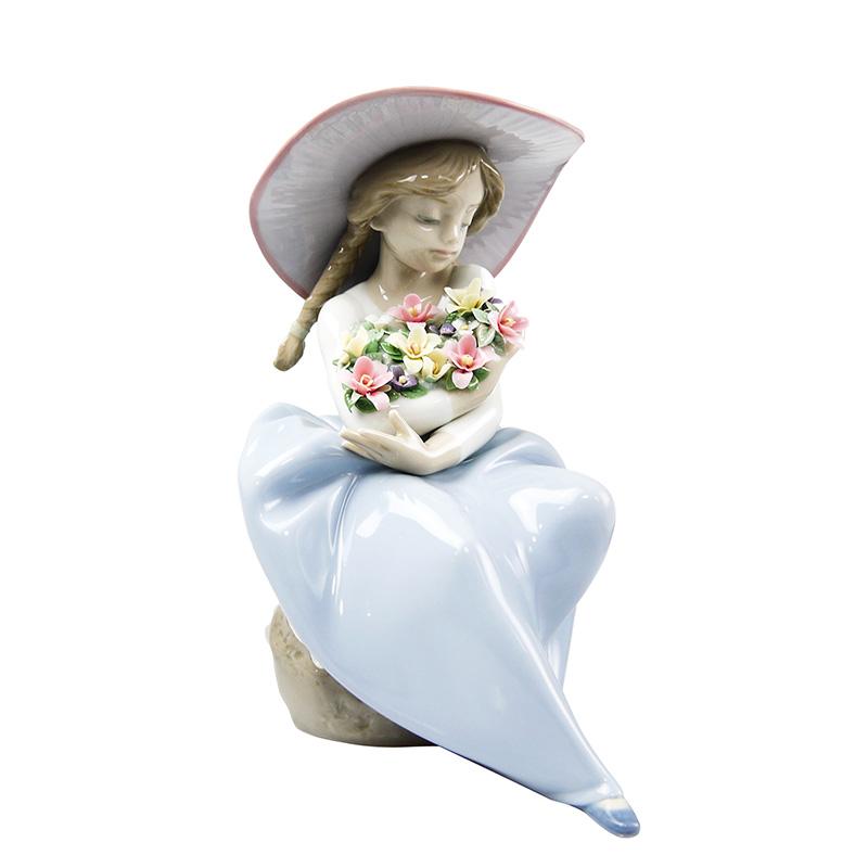 リヤドロ (LLADRO) 花の香りにつつまれて 5862