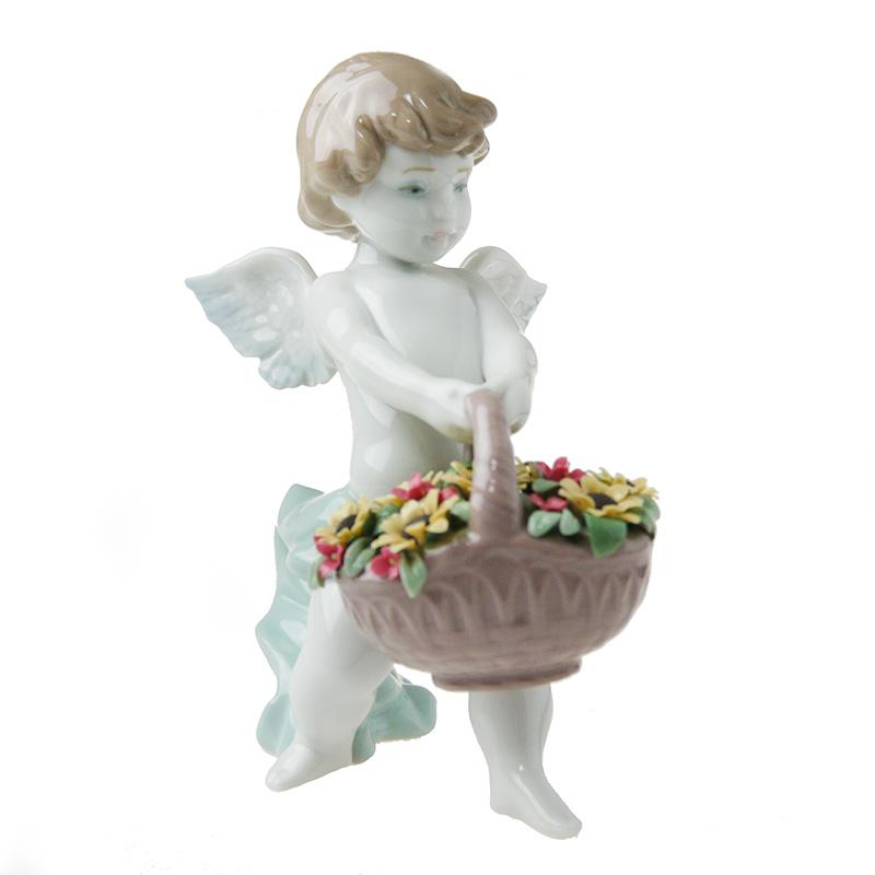 リヤドロ (LLADRO) 人形 天使の贈りもの 8676