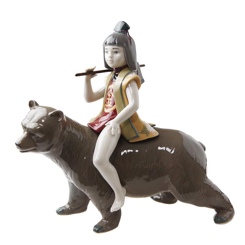 リヤドロ (LLADRO) 人形 金太郎 8687