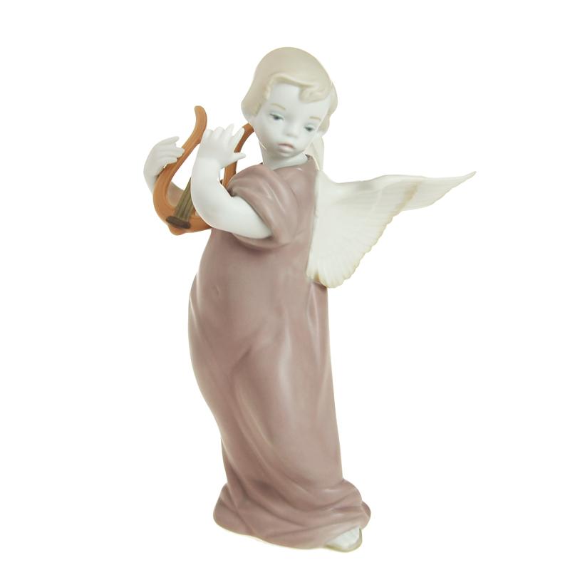 リヤドロ (LLADRO) 人形 リラを弾く天使 9187