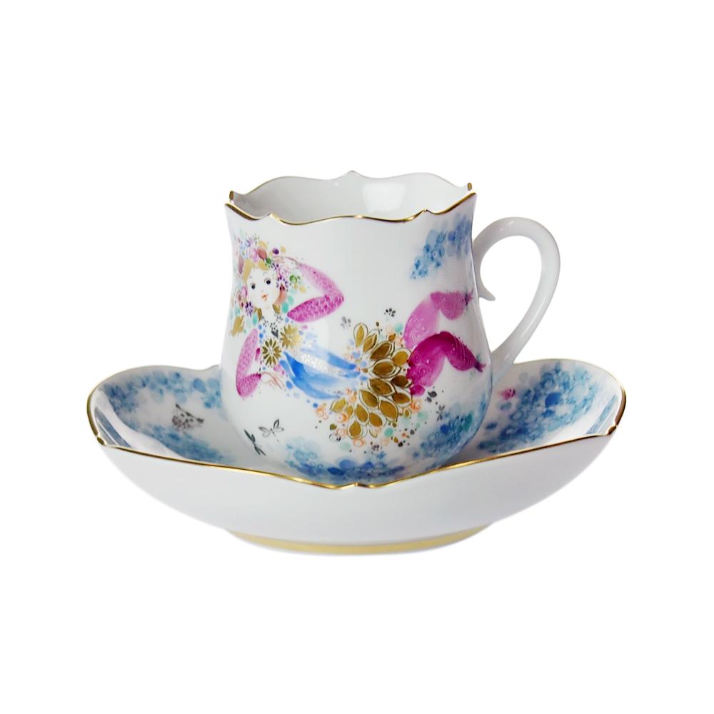 マイセン (Meissen) ミッドサマーナイトドリーム コーヒーカップ&ソーサー #1