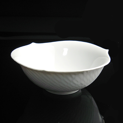 マイセン (Meissen) 波の戯れホワイト サラダボウル 14.5cm 29411