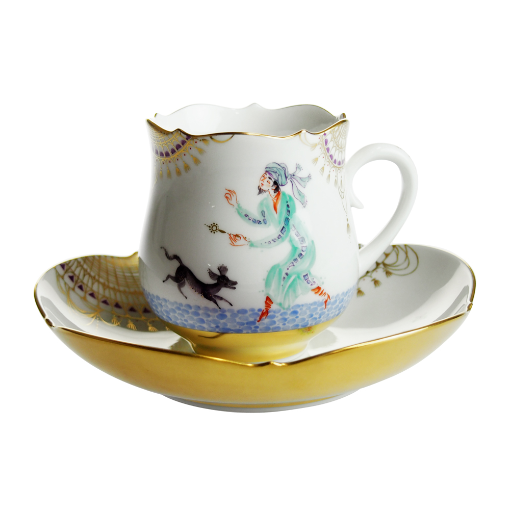 マイセン (Meissen) アラビアンナイト コーヒーカップ&ソーサー No.11 680710/23582-11