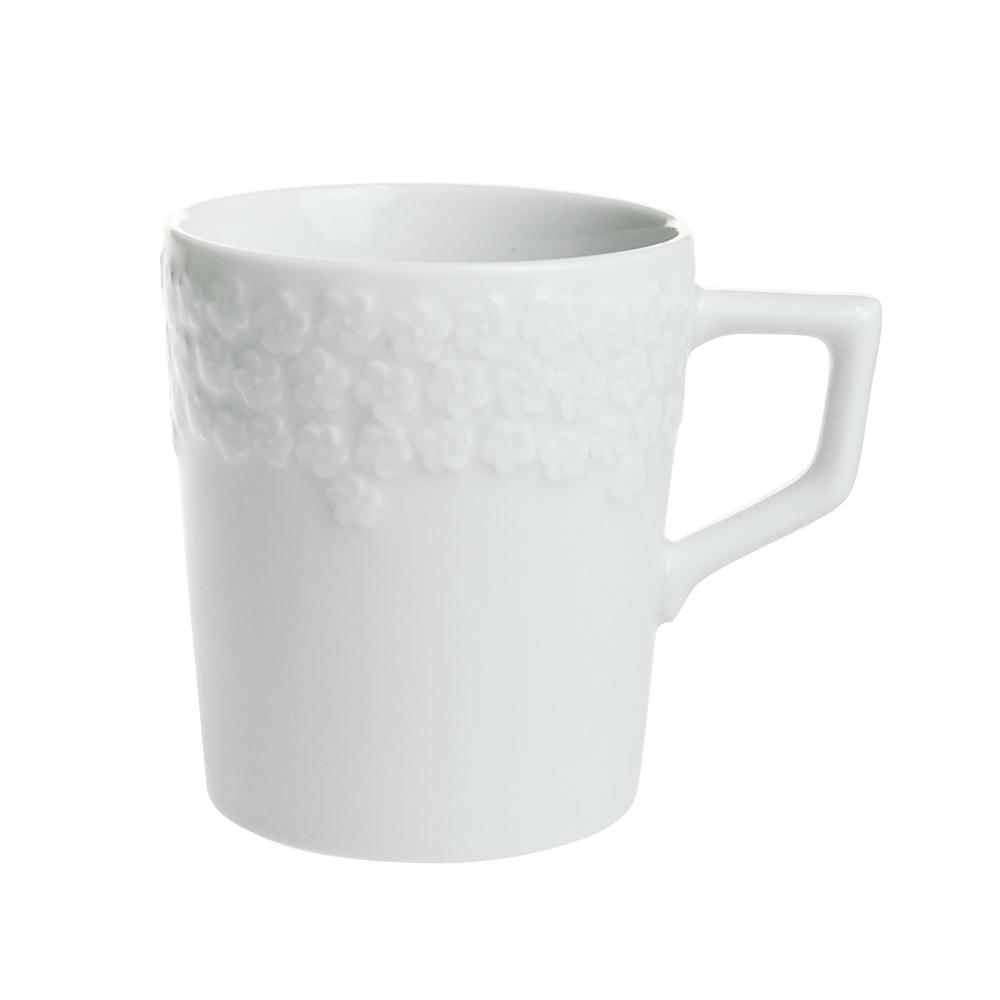 マイセン (Meissen) ロイヤルブロッサム ホワイト マグカップ 42576