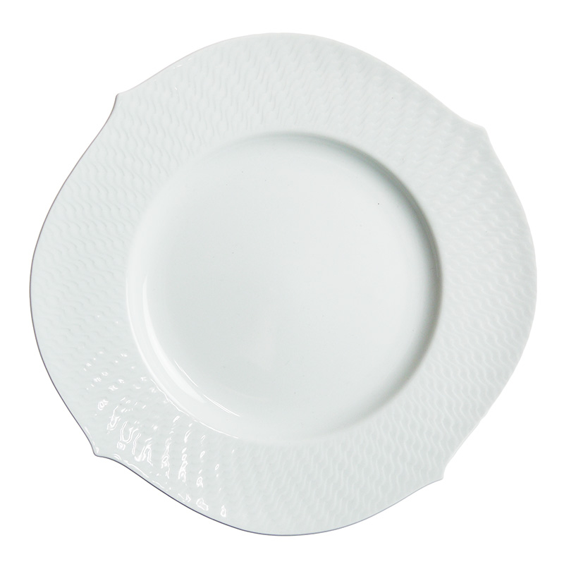 マイセン (Meissen) 波の戯れホワイト プレート28.5cm 29479