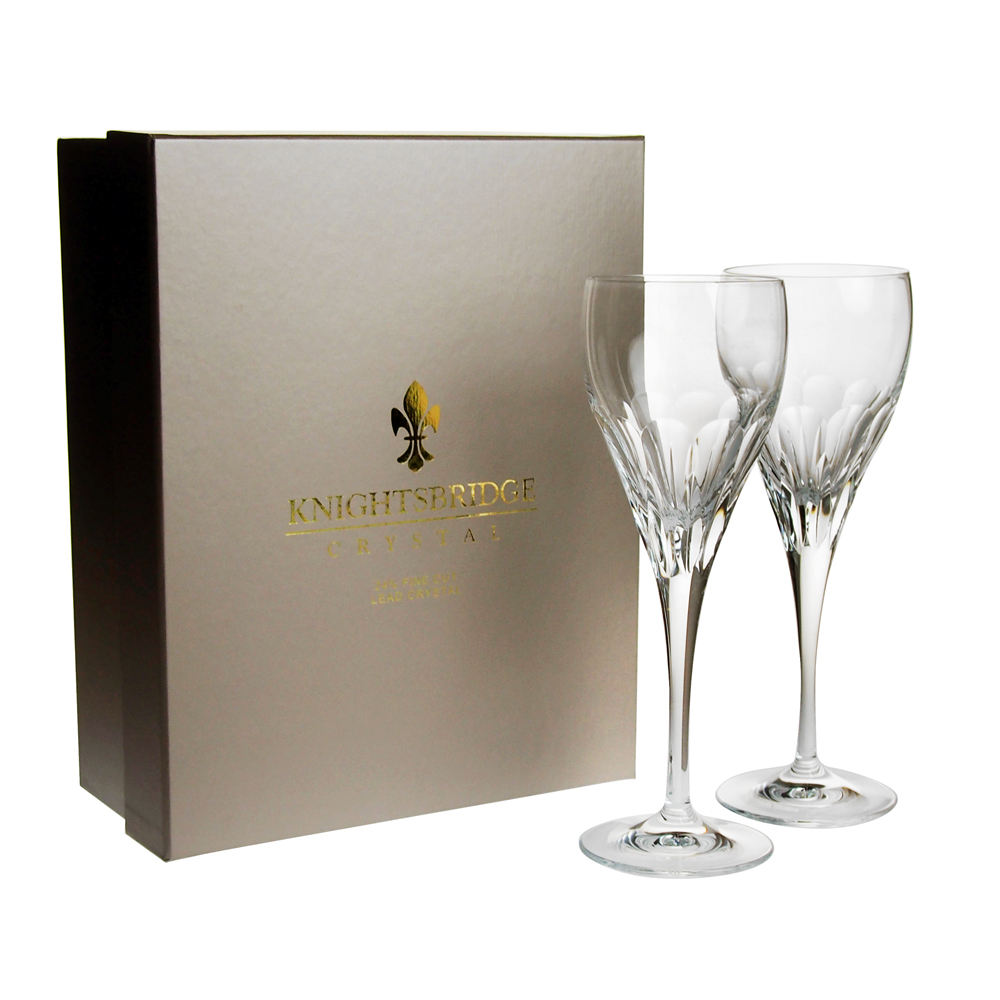 ナイツブリッジ クリスタル メイフェア ワイングラス [L] ペア