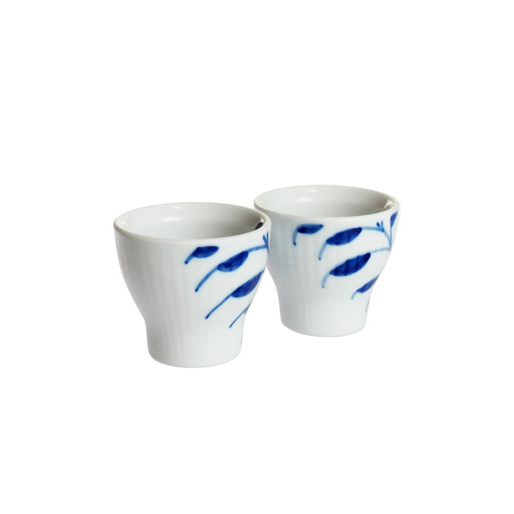 ロイヤルコペンハーゲン ブルーフルーテッド メガ エッグカップ ペア 2-381-703