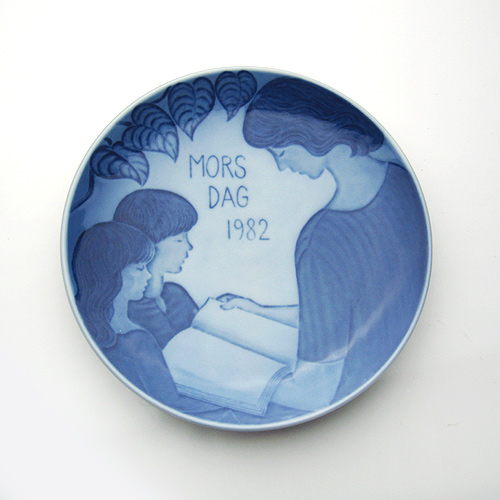 【送料無料祭】ロイヤルコペンハーゲン マザーズ デイ プレート 1982年