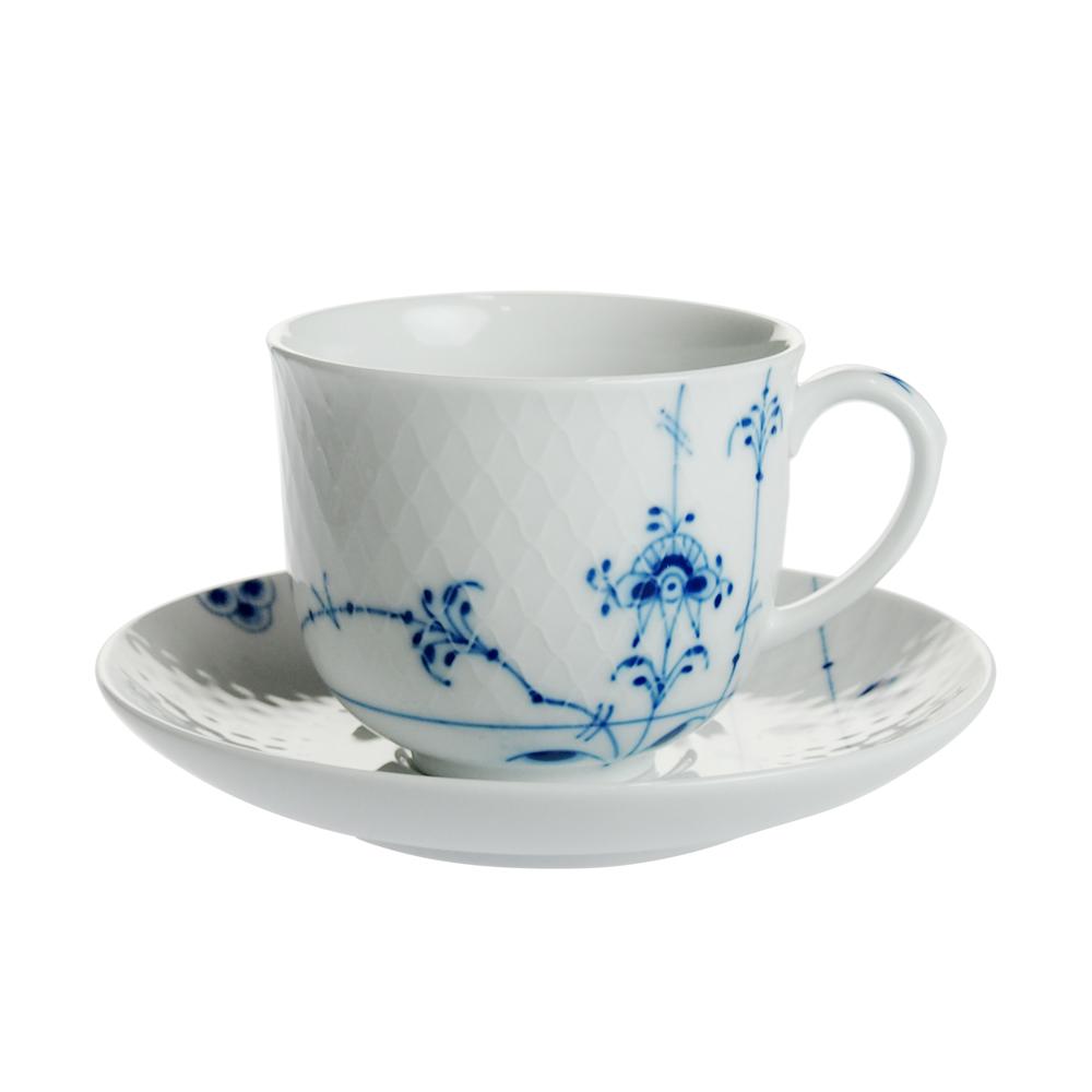 ロイヤルコペンハーゲン ブルーパルメッテ コーヒーカップ&ソーサー 240ml 2-500-074