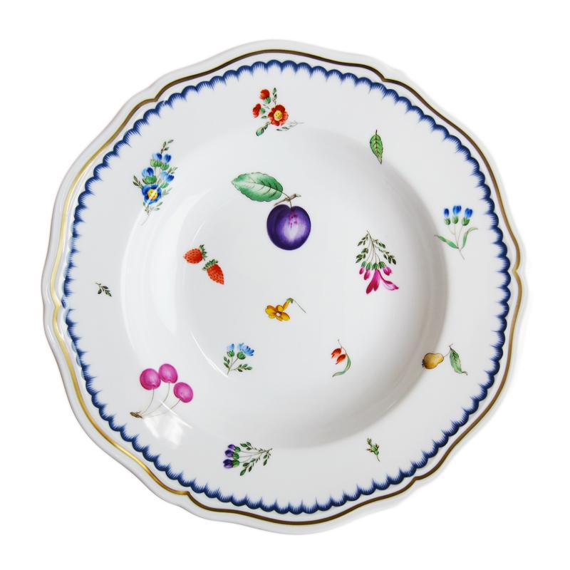 リチャード・ジノリ (Richard Ginori) イタリアンフルーツ スーププレート 24cm 03-0245