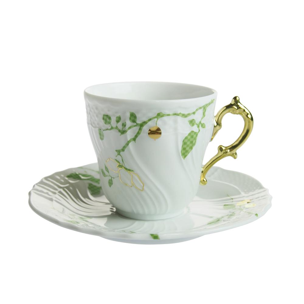 リチャード・ジノリ 食器 コーヒーカップ リチャード・ジノリ (Richard Ginori) フィオーリヴェルディ コーヒーカップソーサー [L]