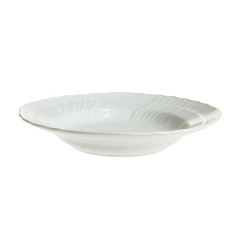 リチャード・ジノリ ベッキオホワイト スーププレート 24cm 02-0180
