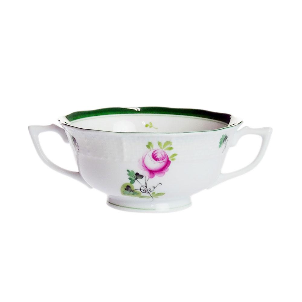ヘレンド (HEREND) VRH ウィーンのバラ スープカップ 751