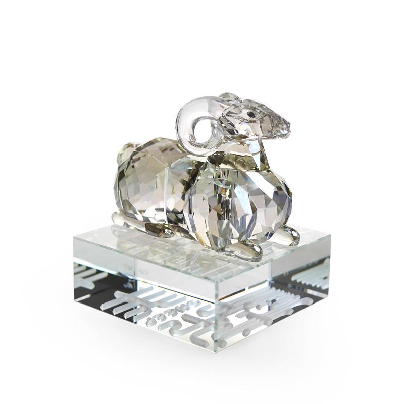 スワロフスキー (SWAROVSKI) 置物 シープ 1 046 180 [羊]