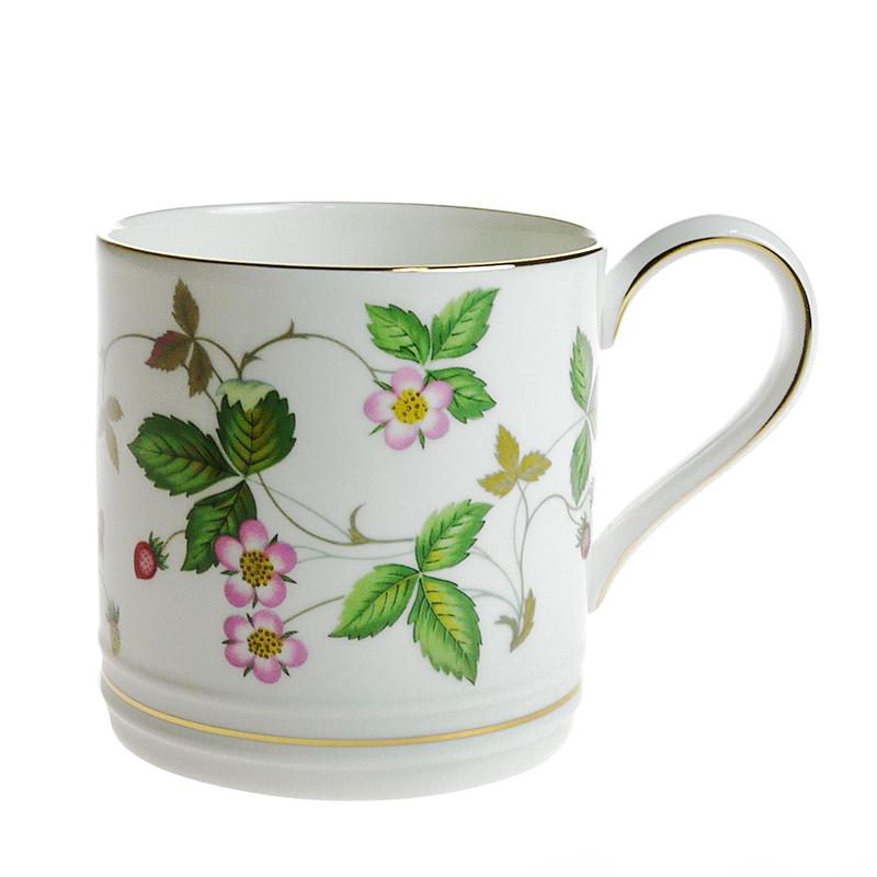 ウェッジウッド(WEDGWOOD)ワイルドストロベリーマグカップ[L]タンカ−ド