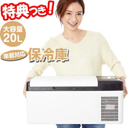ベルソス 車載保冷庫20L VS-CB020 3WAY電源 車用保冷庫 自動車冷蔵庫 カー冷蔵庫
