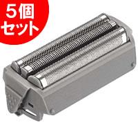 パナソニック シェーバー替刃 ES9077 5個セット Z101外刃 グレー(カセット式) 替え刃 メンズシェーバー替え刃 ES-9077 Z101H外刃 リニアスムーサー システムスムーサー 対応 パナソニックシェーバーは ラムダッシュ